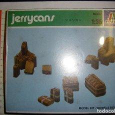 Maquetas: JERRYCANS ITALERI 1:35. DESCATALOGADO. Lote 77366617