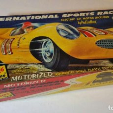Maquetas: INTERNATIONAL SPORTS RACER, BY PAUL LINDBERG, ELECTRIC KIT MOTOR. Lote 78123949