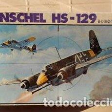 Maquetas: ESCI - HENSCHEL HS-129 4002 1/48. Lote 78267869