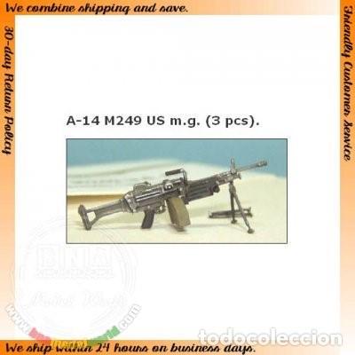 M249 US. MG. A-14 TANK 1/35 (Juguetes - Modelismo y Radiocontrol - Maquetas - Militar)