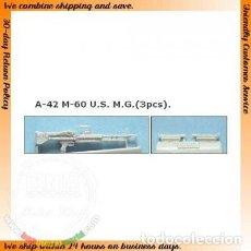 Maquetas: M-60 US. M.G. A-42 TANK 1/35. Lote 78274757
