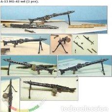 Maquetas: MG-42 SET. A-12 TANK 1/35. Lote 78275729