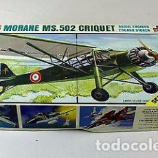 Maquetas: ESCI - MORANE SAULNIER MS-500/502 CRIQUET 4023 1/48. Lote 78279277