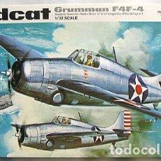 Maquetas: REVELL - WILDCAT GRUMMAN F4F-4 H 299 1/32. Lote 78380085