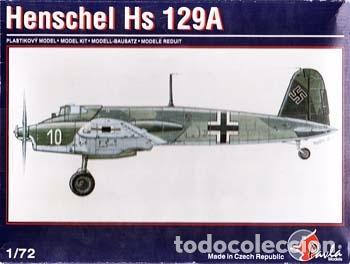 PAVLA - HENSCHEL HS 129A 72004 1/72 (Juguetes - Modelismo y Radio Control - Maquetas - Aviones y Helicópteros)
