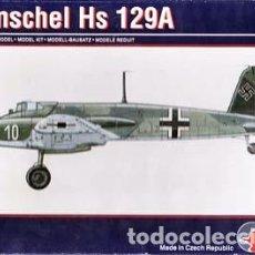Maquetas: PAVLA - HENSCHEL HS 129A 72004 1/72 . Lote 78450361
