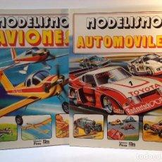 Maquetas: MODELISMO. AVIONES. STROUD, JOHN. MODELISMO. AUTOMÓVILES. EARL. LAWRENCE H. . Lote 78459669