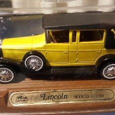 Maquetas: COCHE LINCOLN MODELO L 1.928. Lote 79110841