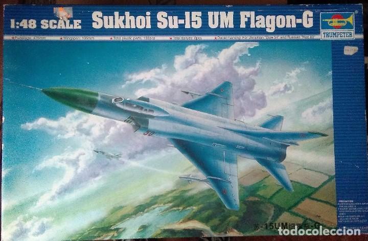 TRUMPETER 02812 SUKHOI SU-15UM FLAGON-G 1/48 (Juguetes - Modelismo y Radio Control - Maquetas - Aviones y Helicópteros)