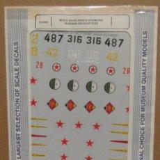 Maquetas: SUPER SCALE INTERNATIONAL 72-460 MI-8 HIND & KA-25 HORMONE 1/72 CALCAS. Lote 80079877