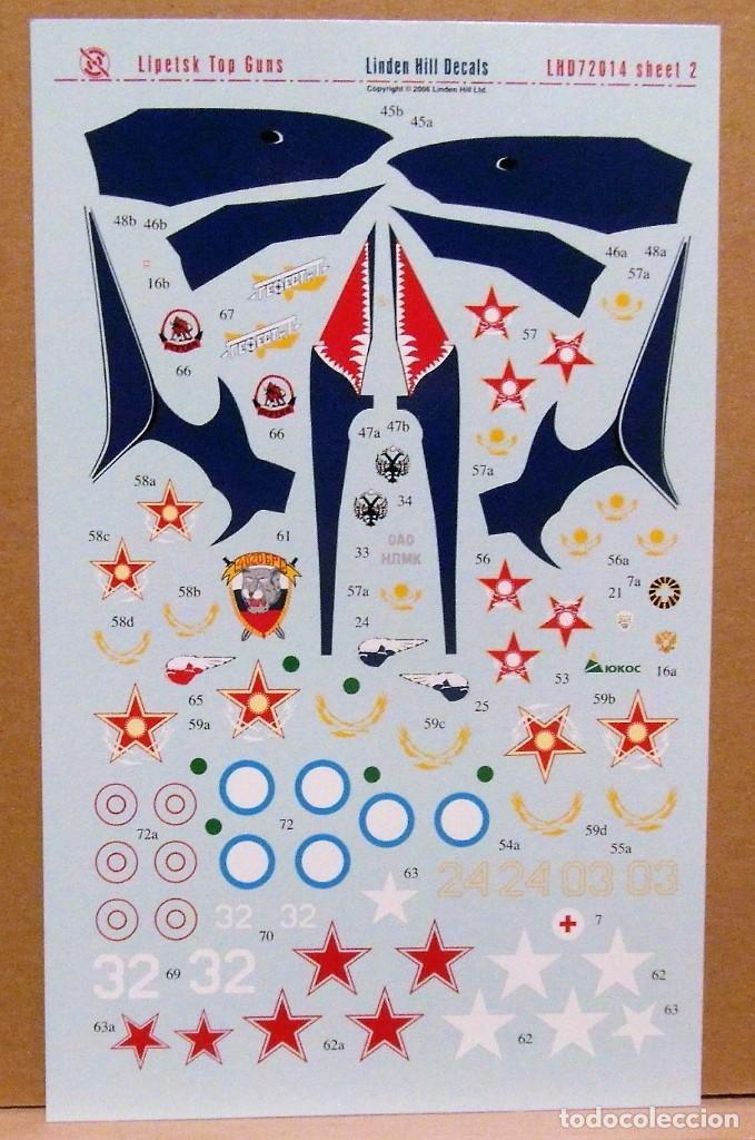 Maquetas: Linden Hill Decals 72014 MiG-29/MiG-31/Su-24/Su-25/Su-27 Lipetsk Top Guns 1/72 calcas - Foto 3 - 80104781