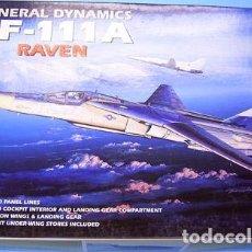 Maquetas: ACADEMY - GENERAL DINAMICS EF-111A RAVEN 1676 1/48. Lote 80300973
