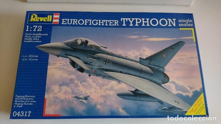 EUROFIGHTER TYPHOON ESCALA 1/72 . REVELL. COMPLETO. MAQUETA AVIÓN (Juguetes - Modelismo y Radio Control - Maquetas - Aviones y Helicópteros)