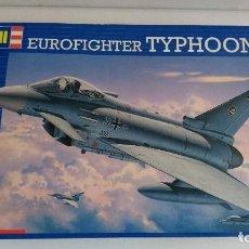 Maquetas: EUROFIGHTER TYPHOON ESCALA 1/72 . REVELL. COMPLETO. MAQUETA AVIÓN . Lote 80609710