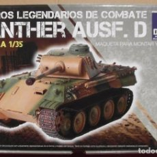 Maquetas: ITALERI PZ.KPFW. V PANTHER AUSF. D 1/35. Lote 81065480