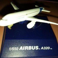 Maquetas: MAQUETA AIRBUS A320 1/550. Lote 81145668