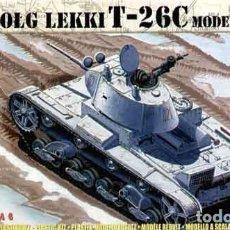 Maquetas: CAJA CON CARRO DE COMBATE LIGERO SOVIÉTICO T-26C MOD 1937 DE MIRAGE HOBBY A 1/72. Lote 136500025