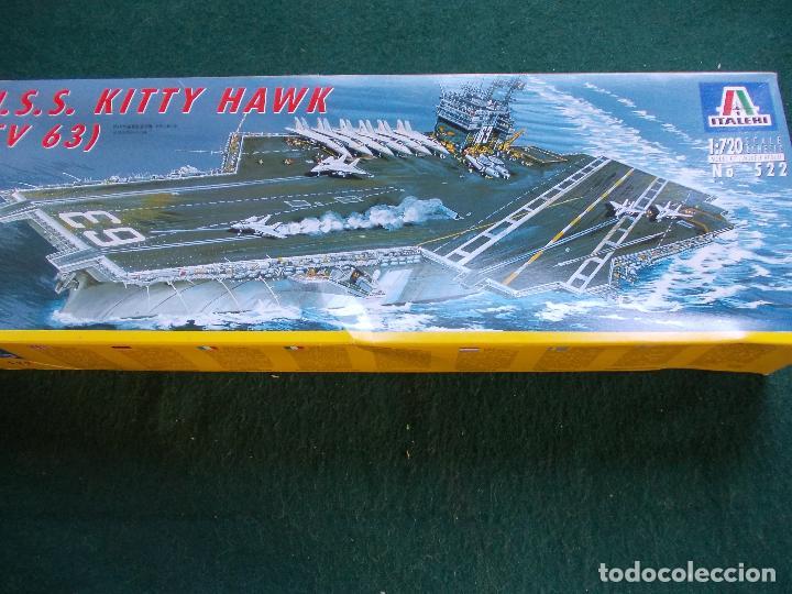 MAQUETA NAVAL ESCALA 1:720 MARCA ITALERI U.S.S. KITTY HAWK (Juguetes - Modelismo y Radiocontrol - Maquetas - Barcos)