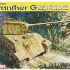 Maquetas: KIT MAQUETA 1/35 SD.KFZ.171 PANTHER G EARLY PRODUCTION. DRAGON 6267. NUEVO.. Lote 83310300
