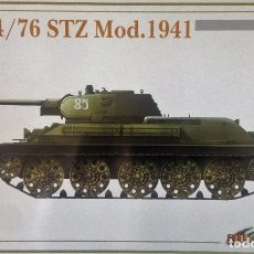 Maquetas: KIT MAQUETA 1/35 TANQUE RUSO T-34/76 STZ 1941. DRAGON CYBER HOBBY 6355. NUEVO. . Lote 83373108