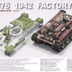 Maquetas: KIT MAQUETA 1/35 T-34/76 1942 FACTORY 112 FULL INTERIOR. AFV CLUB 35S51. NUEVO.. Lote 83505512