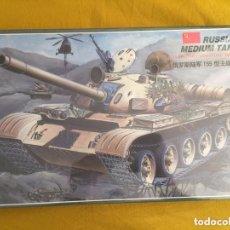 Maquetas: LEE - T-55 MAIN BATTLE TANK 310 1/35. Lote 84129856
