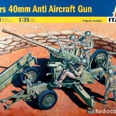 Maquetas: ITALERI - BOFORS 40MM AA GUN 6458 1/35. Lote 84191104