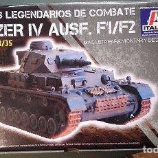 Maquetas: ITALERI - PANZER IV AUSF F 1/35. Lote 84200292