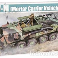 Maquetas: TRUMPETER - LAV-M MORTAR CARRIER VEHICLE 391 1/35. Lote 84200416