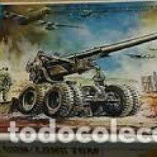 Maquetas: HASEGAWA - M2 155MM GUN LONG TOM MINI BOX 2 1/72. Lote 84211372
