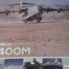 Maquetas: AVIÓN AIRBUS MILITARY A400M ESCALA 1/200. Lote 84587812