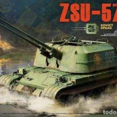 Maquetas: ZSU-57-2 1/35 TAKOM. Lote 84759528