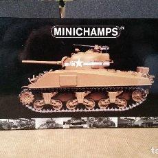 Maquetas: MINICHAMPS SHERMAN M4A3 FRENTE DE AFRICA1:35. Lote 84791928