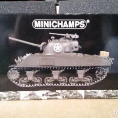 Maquetas: MINICHAMPS SHERMAN M4A3 FRENTE DE EUROPA 1:35. Lote 84792136
