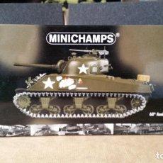 Maquetas: MINICHAMPS SHERMAN M4A3 CONMEMORACIÓN DEL 60 ANIVERSARIO DEL DÍA D 1:35. Lote 84792320