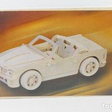 Maquetas: MAQUETA EN MADERA COCHE BMW 740I SIN DESPRECINTAR 23,50 X 38. Lote 85064136