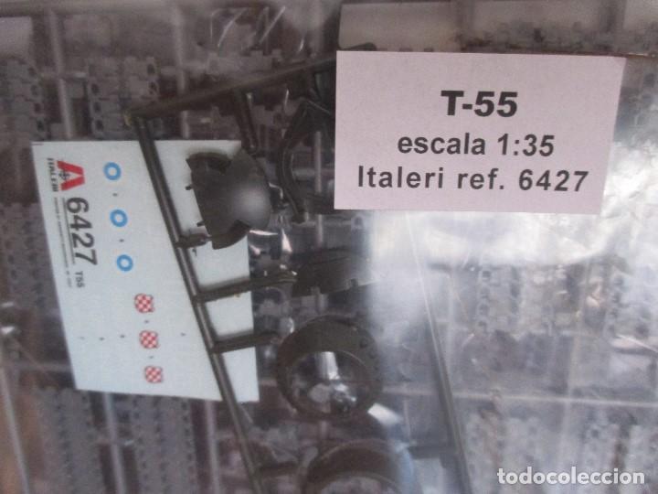 Maquetas: MAQUETA ITALERI REF. 6427 : CARRO DE COMBATE RUSO T-55 (ESCALA 1/35) - Foto 2 - 85416704