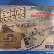 Maquetas: STAR WARS SNOWSPEEDER LUKE MAQUETA MPC/ERTL (NUEVA PRECINTADA 1989). Lote 85486844