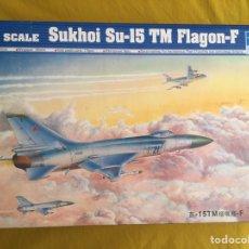 Maquetas: SUKHOI SU-15 TM FLAGON F 1:48 TRUMPETER 02811 MAQUETA AVIÓN. Lote 86035822