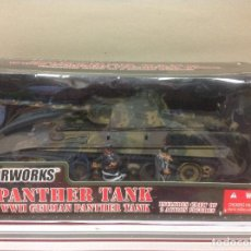 Maquetas: CAJA BLISTER THE ULTIMATE SOLDIER GERMAN PANTHER TANK - 21 CENTURY TOYS MILITAR ALEMAN 1/32. Lote 87016400
