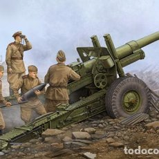 Maquetas: KIT MAQUETA 1/35 SOVIET ML-20 152MM HOWITZER WITH CARRIAGE. TRUMPETER 02324. NUEVO.. Lote 87571568