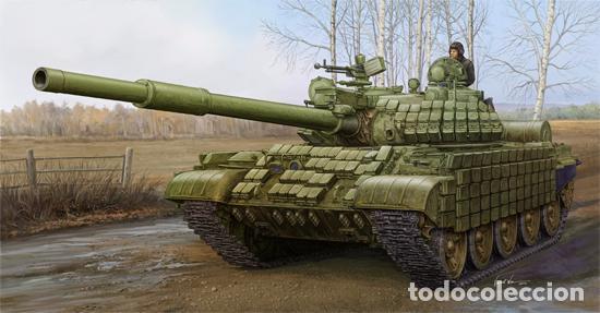 KIT MAQUETA 1/35 RUSSIAN T-62 ERA 1972. TRUMPETER 01556. NUEVO. (Juguetes - Modelismo y Radiocontrol - Maquetas - Militar)