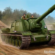 Maquetas: KIT MAQUETA 1/35 SOVIET SU-152 LATE. TRUMPETER 05568. NUEVO.. Lote 87573532