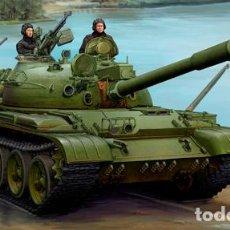 Maquetas: KIT MAQUETA 1/35 RUSSIAN T-62 1975 KTD2. TRUMPETER 01552. NUEVO.. Lote 87573620