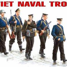 Maquetas: KIT MAQUETA 1/35 SOVIET NAVAL TROOPS. MINIART 35043. NUEVO. . Lote 87580852