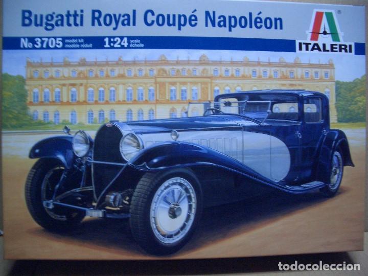 BUGATTI ROYALE COUPE NAPOLEON ITALERI 1/24 (Juguetes - Modelismo y Radiocontrol - Maquetas - Coches y Motos)