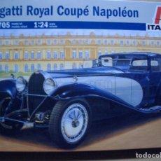 Maquetas: BUGATTI ROYALE COUPE NAPOLEON ITALERI 1/24. Lote 87662536
