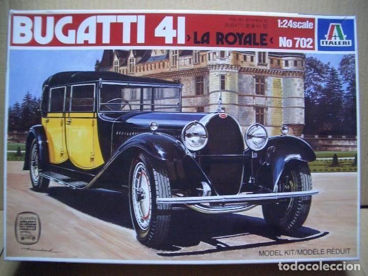 BUGATTI 41 LA ROYALE ITALERI 1/24 (Juguetes - Modelismo y Radiocontrol - Maquetas - Coches y Motos)