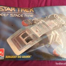 Maquetas: STAR TREK DEEP SPACE NINE RUNABOUT RIO GRANDE AMT 8741. Lote 88971828
