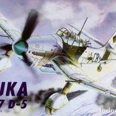Maquetas: MAQUETA DEL BOMBARDERO EN PICADO JUNKERS JU-87D-5 DE ITALERI A ESCALA 1/72. Lote 88975980